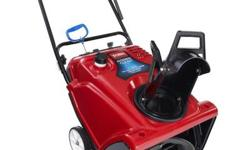 Use Toro Power Clear 621R Single-Stage 21 in. Gas Snow Blower for a 21 in. clearing width and powerful snow-throwing potential, launching snow up to 35 ft. away to put it where you want to. The blower