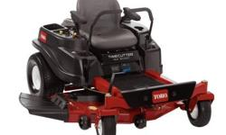 The TimeCutter MX5060 50 in. 23 HP 726cc Kawasaki V-Twin Hydrostatic Zero-Turn Riding Mower has a 3-blade mowing system under a 4 in. deep, top discharge deck design with convenient washout port. The