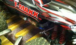 FOR SALE TRAXXAS MONSTER TRUCK TMAXX 3.3  4x4 monster truck fun starts with T-Maxx. When T-Maxx launched onto the scene a whole new world of R/C driving possibilities emerged. T-Maxx has become the wo