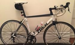 .Trek 1.5 H2 Road Bike - + Spare wheel and Cateye lights for sale I am selling a Trek 1.5 Road bike (58cm). Hardly used, 850 brand new. A few scuff marks. Great overall condition. Comes with a spare w