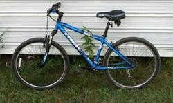 2002 Trek 2300 in very good condition-never wrecked, one owner, with comes with Sigma Sport Tegra computer. Great upgrade bike just in time for Christmas!! Comes with Nike size 9.5 shoes and Look peda
