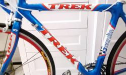 Good clean Trek roadway bike for sale.  Full carbon (frame & fork).  Full Ultegra groupset.  Rolf Vector Comp wheelset.  Bike has been totally tuned and trued recently and has.  * new bar tape. * new
