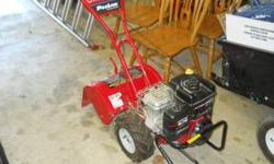 Troy Bilt Model 640 ProLine CRT tiller. 6.75 Hp Briggs & Stratton motor. Used very little. Spring time planting is almost here! LOWER PRICE $500!!! Must sell!!!!Txt or call 765-749-8212 and leave mess
