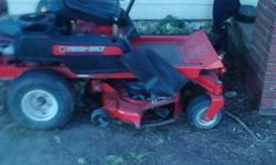 ive got a troy bilt rideing mower for sale runs excellent . you come pick it up in Warrensburg mo. 64093 send email ill contact you to alonzobyers@ymail.com ill be waiting. model 229145 19 hp. durable