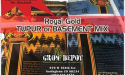 Holiday Sale on Tupur and Basement Mix at Grow Depot. Now until 12/26 (Saturday): $12.88/bagHurry while supplies last!Must mention this ad for the discount!Please limit 10 bags______Royal Gold Tupur w