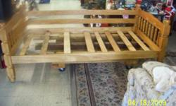 VERY NICE TWIN OAK BED WITH SLATS.........YOU CAN SEE AT UR KEY 2 DEAL$. . ....6627 SOUTHSIDE DR.   NEAR    STRAWBERRY LN.  NEXT TO THE PIC PAC.OR CALL 502-742-6355 HOURS: MONDAY - SATURDAY 10 -- 7. .