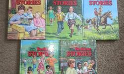 I have a set of Uncle Arthur's Bedtime Stories books, 1-5 hard cover in excellent condition. These are great inspirational stories that children enjoy. They are Christian based stories that help build