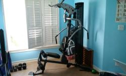 """SUPER NICE EXCELLENT CONDITION - Marcy M1 Inspire - Universal home gym weight training station with leg extension This unit cost $3500 New *Frame: Heavy-duty 2""""x 4"""" oval and 3""""round 11 gauge tubular s"""