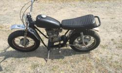 Used 1971 Rupp Speedway Widow maker with 5HP Tecumseh, not working but turns over. Great restoration project or mini bike build. $500 Firm