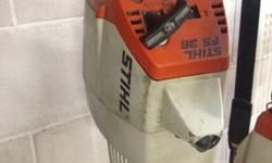We have a VERSION: Used FS 36. MAKE: STIHL. KIND: Curved Shaft Leaner with Poly Cut Head.  THE FUNCTION WE HAVE CARRIED OUT ON DEVICE AVAILABLE: New stimulate plug, got rid of carbohydrate to clean &
