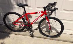 """""""Redline Conquest 24""""- Serial # ICRL13002988""""http://redlinebicycles.com/bikes/2015-conquest/Bought new for $700 used once - kid grew too fast! 35 cmWill deliver$400 obo cross posted"""