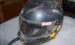 Used black Simpson full face racing helmet. I think it is a large. $20 Call 478-308-1563 or 478-308-9334. Pick up only. Location: Cochran, GA