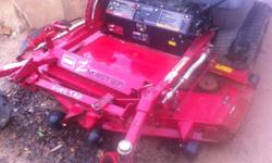 """Used Toro Z Master 287L ZTR zero turn mower 62 """" cut SFS, 27 hp liquid cooled Kawasaki engine, recent oil change, hydro filter and fluid change,.Regular maintenance, 2004 model, good tires, ROPS and s"""