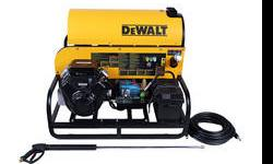 """Standard features include: General brand pump, horizontal combustion chamber, SCH 80 coil with 1/2"""" coil pipe and pressure safety relief valve and high temperature limit switch. 4 wheel chassis for ea"""