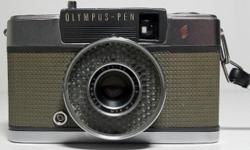 Introduced in 1962, the Olympus Pen EES was the world's first electronic camera with a programmable EE shutter. The shutter speeds were 1/30 and 1/250 sec. The shutter speed altered immediately accord