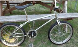 All original and in excellent!!! condition 1984 Mongoose Cali. I was able to get lucky and get this bike from the original owner. The bike was new in 1984 and only used for a few years. The bike was i
