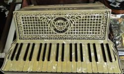 Vintage Cellini Valletta Accordion with Case & Music Made in Italy, WE HAVE LAYAWAY FOR YOUR CONVENIENCE. We do our best to make sure we give our customers the Best Price and Service we can. If you ha