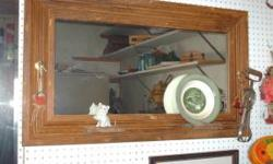 """I have some vintage mirrors from the 30s to the 60s that are 1/4"""" plate that i have framed in reclaimed wood salvaged from old homes for sale many different colors and styles asking $85.00 for this on"""