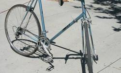 """Great Condition Vintage Takara 10 speed road/racing bicycle. Has 27"""" x 11/4"""" wheels/tires, and 25"""" frame. Has some nicks and chips from use but total quite good. Bought it from a next-door neighbor a"""