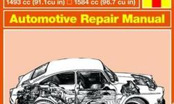This is a NEW, Automotive Repair Manual for the Volkswagen 1500 and 1600 Type 3 built from 1963 thru 1973. It was produced by by J. H. Haynes and D. H. Stead, and published by Haynes Publishing Group,