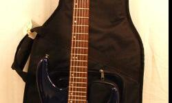 This listing is for a Washburn Mercury Electric Guitar Designed by Grover Jackson with a Gig Bag.  This guitar is a great fixer upper, it is very clean but it is missing 2 pick-ups.  With a little TLC