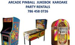 Service call at your home or place of business Call today   We Buy Sell Repair all types of coin operated Machines  Pinballs---Jukeboxes---Arcade---Slots Over 40 years servicing South Florida.  Office