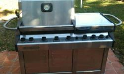 """Weber Vieluxe 44"""" Super Premium Stainless Steel Gas Grill Hand Built Precision - The Rolls Royce of Grills This is arguably the finest gas grill ever made. . . truly the Rolls-Royce of BBQ Grills. Tho"""