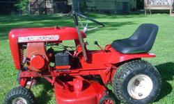 1968 Wheel horse lawn ranger with 6 hp pull start and elctric start engine. Just had the blades sharpened. Phone # 812-325-9908 Thanks. // //]]> Location: Bloomington, In