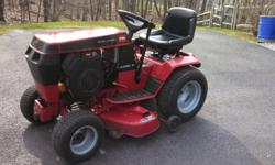 "WheelHorse tractor 15hp Kohler OHV engine with 205 hrs. 42"" deck Excellent condition"