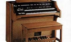 I have a White Oak Lowrey Celebration Organ for Sale. It does include pedals.25 It has some wear. This was the top of the line organ in the late 70's, and was made by Lowrey, and was called the celebr