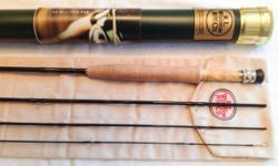 "Winston BIIX 3wt 8' 6"" $385.00 New with warranty card Excellent light weight fly rod Nice smooth crisp cast"