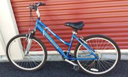 Womens MONGOOSE mountain bike bicycle off road with front suspension 21 Speed  -------------------------------------------------------------------------------------------------------- Give us a call t