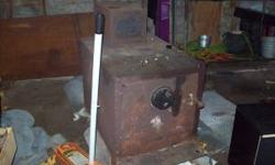 up for sale is an old wood burning stove in good condition. im asking $150 obo. email or call for more information. 1315-483-6117 ask for adam Location: sodus ny