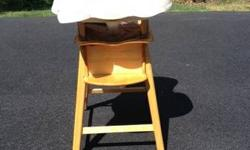 Eddie Bauer Wood High Chair Mountain Top PA For Sale