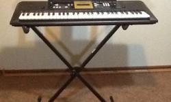 I am selling the Yamaha digital keyboard model YPT-220 which features 375 natural sounding voices, including Stereo Grand Piano, 361 XGlite voices, 12 drum kits and a sound effect kit. The YPT-220 als