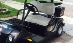 2012 gas fuel injected Yamaha golf cart with Bluetooth audio 12V power supply 12 pack cooler. Excellent condition. Have owners manual and both keys. $6000.00 or best offer. Chris This ad was posted wi