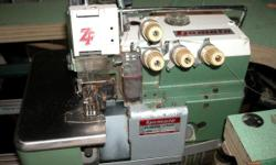 Yamato ZF1500-CFD5-20 Industrial Sewing Machine For Sale. Includes Sewing table and Alphsew Clutch motor. Works! May need some work. We don't know too much about this machine. Please feel free to ask