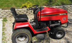 Estate Series Riding Lawn Mower 50'' cut, 3 blades, 20 horsepower twin cylinder Koehler engine runs like new, has normal wear on the deck, was used last year until end of season, I have a new pull beh
