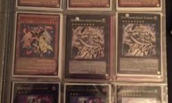 Thank you for having a look at the ad. I'm offering some yugioh cards in bulk for $325. This is generally for any individual who is starting or desiring to give this to someone who is beginning yugioh