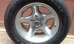 Hi there, im selling four silver aluminum Z Racing wheels 225/60/rz15, 5x4.5 lug. They were on my 79 Toyota Pickup. they would look excellent on your hot rod or muscle automobile. The wheels them self