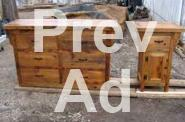 Rustic Handmade Pine Log Beds For Sale In Saint Germain
