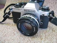 I have a gently used Nikon FG-20 style camera made from