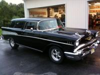This vehicle is Jon Bon Jovi's 1957 Nomad which was a