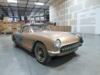 1956 CORVETTE HISTORY, BY OWNERRestorers dream. Less
