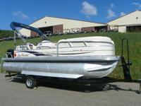 2008 SUN TRACKER 21 PARTY BARGE SIGNATURE WITH ONLY 186