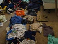 Lots of boy clothes from newborn -3 T Most quantity is