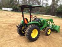 This tractor is NEW! We have discounted this model to