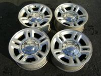 """4 FORD EXPEDITION 16"""" MACHINED WHEEL OEM FACTORY RIM"""
