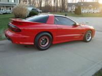 I have for sale my 30k mile 2000 trans am. T-Tops. Car