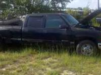 2000 Chevrolet 3500 Dually Diesel Truck....parting out.
